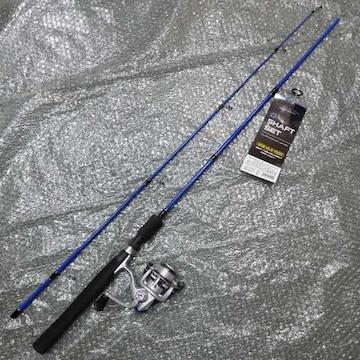 スピニング602MLS リールセット Blue