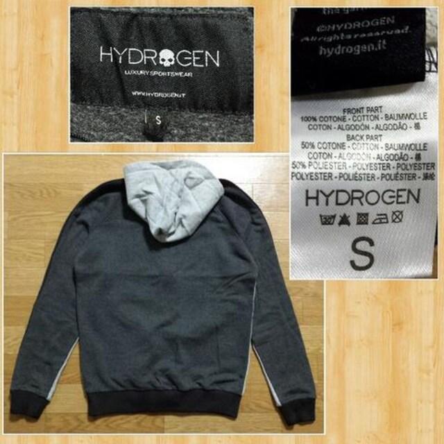 購入51840円 HYDROGEN ハイドロゲン スウェットパーカー S 新品未使用 < ブランドの