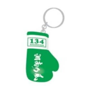 即決 湘南乃風 ボクシンググローブKEYホルダー(緑) 新品未開封