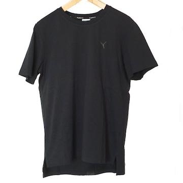 新品◆PUMA 黒胸ロゴTシャツ(L)