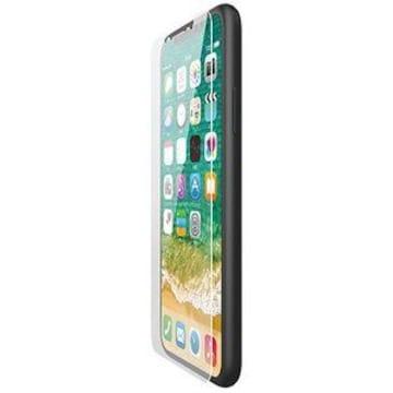★ELECOM iPhoneXS iPhoneX ガラスフィルム 0.33mm