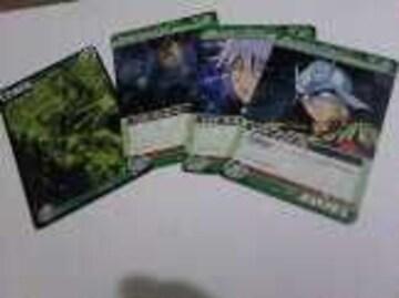 4枚セット/ガンダムウォーNEX-A非売品/グラフィック1枚&キャラクター3枚