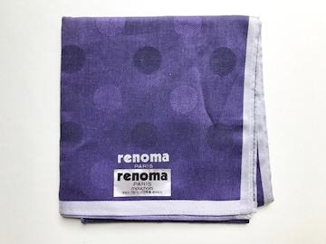 【新品】renoma レノマ ハンカチ
