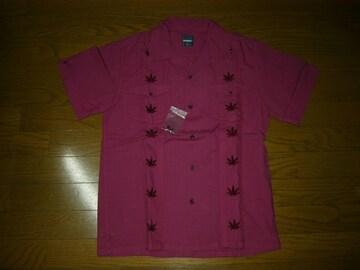 新品エクストララージXLARGEキューバシャツM刺繍ステッチ半袖
