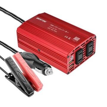 ACコンセント 2口 DC12VをAC100Vに変換