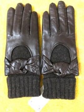 アンテプリマ羊皮革手袋ニットインナー20タッチパネル対応