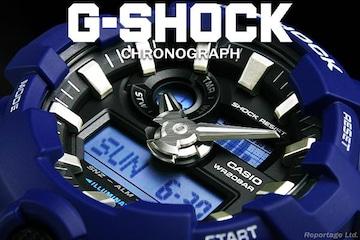 送料込 G-SHOCK CASIO カシオ 1/100クロノ&デジアナBL新品