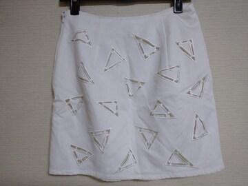 used美品☆[riend]トライアングル空▽△Sexy miniスカート☆