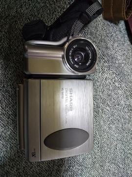 シャープデジタルビデオカメラ