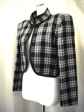 【マコビス】【イタリア製】ゆったりしたショートジャケット