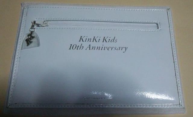 KinKi Kids★10周年記念品★ファンクラブ(FC)公式★堂本光一/堂本剛  < タレントグッズの
