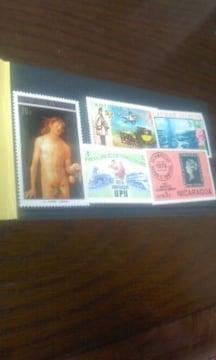 ◆世界の切手/未使用/5枚/郵便局/C/