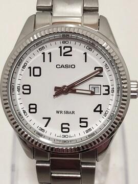 T301 美品 Casio カシオ LTP-1302 WR 5BAR腕時計