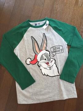 GAP×WB☆バッグス バニー クリスマス柄Tシャツ・新品