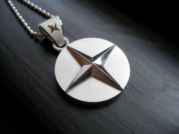 仁尾彫金『十字星メダルヘッド』ハンドメイド82