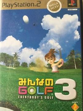 PlayStation2みんなのGOLF3