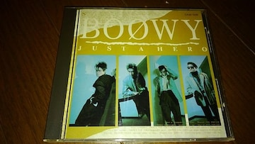 CDソフト BOOWY JUST A HERO