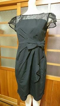 シースルーブラック ドレス