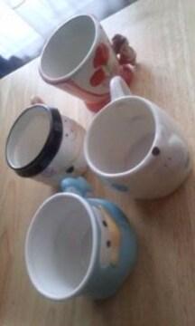 マグカップ4個