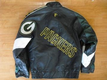 PRO LAYER NFL パッカーズ レザージャケット USA-M