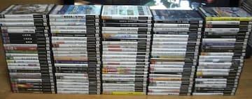 売り切り  PS2ソフト121本まとめ売り