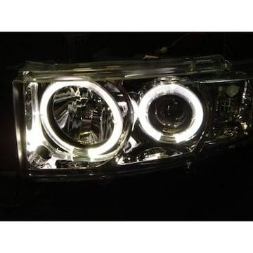 トヨタ bB NCP30/31/35 イカリング付プロジェクターヘッドライト  クロームメッキ