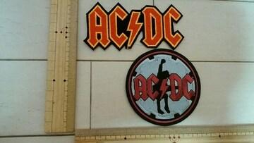 ��38 アイロンワッペン AC/DC
