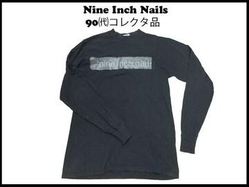 90s ・デッド Nine Inch Nails ナイン インチ ネイルズ ロング T ヴィンテ 夜光