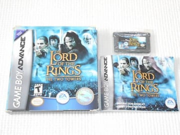 GBA★THE LORD OF THE RINGS THE TWO TOWERS 海外版