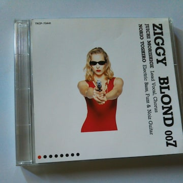 CD ZIGGY BLOND 007〒送料無料