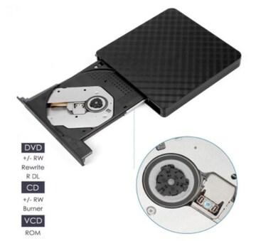 外付けDVDドライブ BT668 高速USB3.0 超薄型