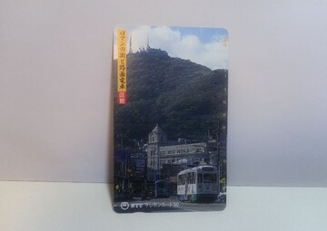 函館路面電車 使用済テレホンカード