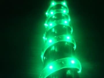 超発光/薄型/防水 LEDテープ 120�p グリーン/緑