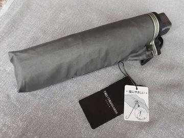 新品未使用タグ付 ◆トラサルディ◆紳士メンズ折りたたみ傘60cm