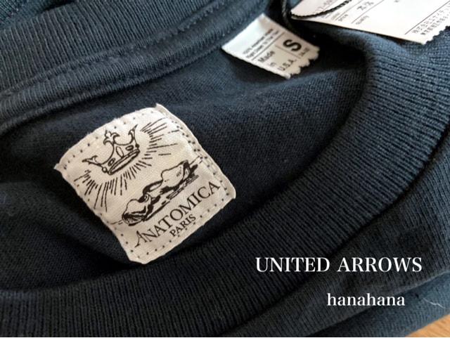 UNITED ARROWS*ANATOMICAアナトミカpocketTシャツ新品タグ < ブランドの