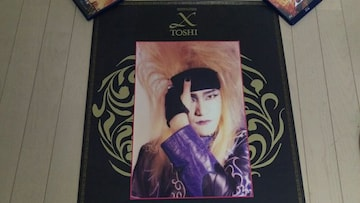 X JAPAN ToshI ポスター 1992