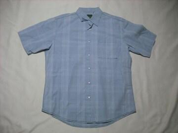25 男 TIMBERLAND ティンバーランド 半袖チェックシャツ Mサイズ
