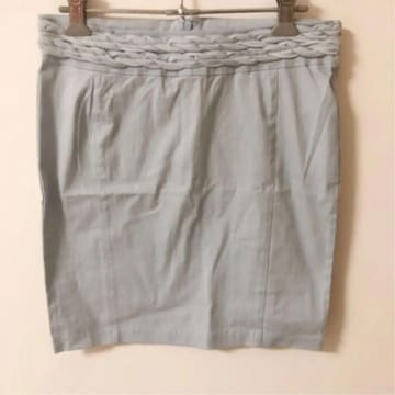 duras デュラス 水色 ブルー デニム スカート