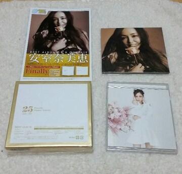 安室奈美恵 ベストアルバム「Finally」CD 非売品DVD 他