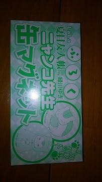 夏目友人帳 ニャンコ先生 缶マグネット