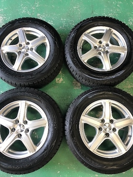 0101253)激安国産ダンロップスタッドレスタイヤ美品AWセット215/65R16送料無料