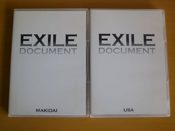 DVD EXILE DOCUMENT MAKIDAI + USA 2本セット