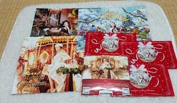 安室奈美恵 クリスマスパンフ ポストカード ゴーグル付き