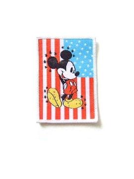 ★Disney★Mickey Mouse★ミッキーマウス★ワッペン★DIY★