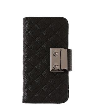エゴイスト ブラック 手帳型スマホケース iPhone