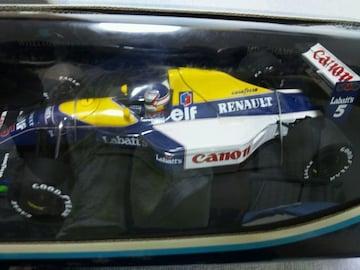 ★1/18 ウィリアムズ ルノー FW14 1991// N.マンセル ★