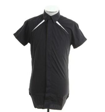 diorhommeディオールオム 比翼ドレスシャツ 半袖シャツ