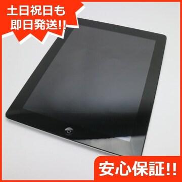 ●美品●iPad第4世代Wi-Fi64GB ブラック●