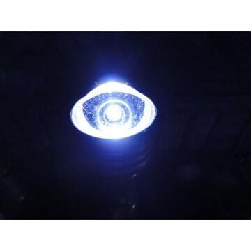 超輝度!S25型 ハイパワーLEDバルブ シングル球 ホワイト 白