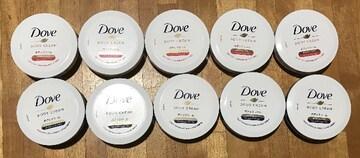 DOVEクリーム2種類10個セット、送料込み